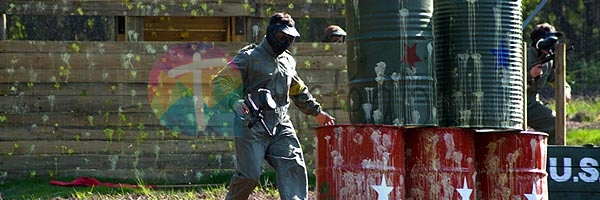 Paintball con Jaire Aventura