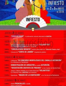 Feria de abril en Infiesto 2019
