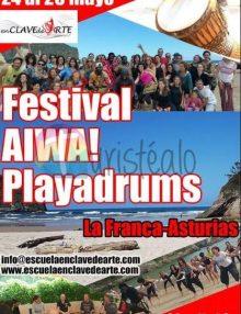 Festival multidiscipinar Aiwa Playadrums en La Franca