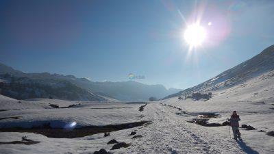 Raquetas de nieve con Canoas Ribadesella